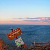 ペシ岬頂上