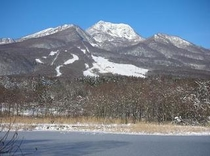 妙高山の冬