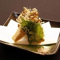 ご夕食一例(天ぷら)