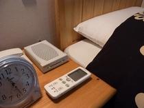 洋室全室にイタリア製の枕付