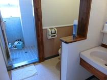 セパレートタイプのバストイレ洗面所 洋室ツインルーム