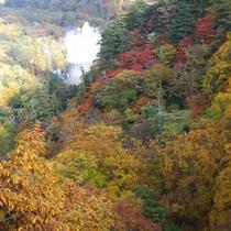 松川地熱と紅葉