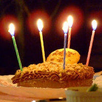 おめでとうケーキ