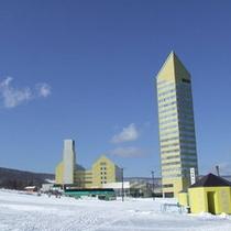 スキー場とホテル