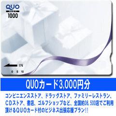 ≪商品券orQUOカード3000円分★朝食付≫お好きな方を選べます♪