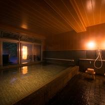 リニューアルされた大浴場は落ち着きある趣きで心から癒しをもたらします。