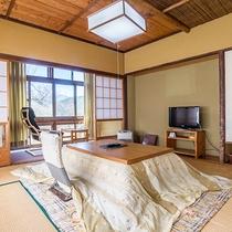 *【和室8畳トイレ付】ほっと落ち着く畳のお部屋。