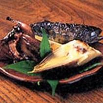 山里料理(一例)