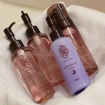 POLAカラハリ(メイク落とし、洗顔料、化粧水、乳液)客室と大浴場にあります。