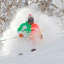 【冬】新雪を思いっきり滑ったよ〜☆