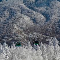焼額山スキー場第1ゴンドラ