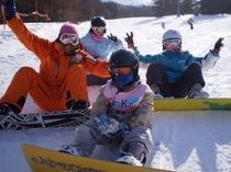 ファミリーで楽しめるスキーリゾート