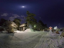 弘前城 雪灯篭まつり