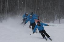 スキースクール インストラクター
