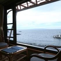 3F和室(窓から見た風景)*