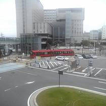 高岡駅名物路面電車