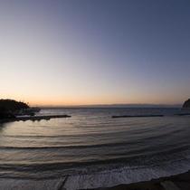 【景色】ロビー外の海岸