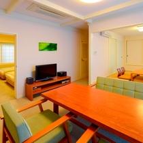 デラックスタイプ 和洋室一例