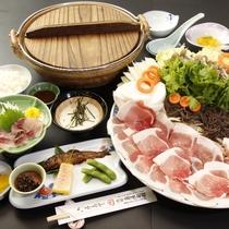【しし鍋定番料理】