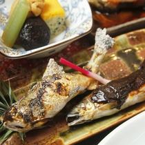 【焼き魚料理一例】