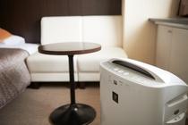 快適なホテルステイをお楽しみいただける空気清浄機も完備