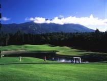 雫石ゴルフ場の夏(36H)