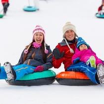 ■【雫石スキー場】ファミリー雪遊びイメージ(2015年~使用)