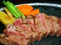 大西さんちの【熊野牛ステーキ】