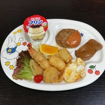 *【お食事】見た目も愛らしい、幼児のお食事です♪