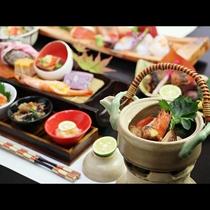 【秋 ご夕食一例】松茸の土瓶蒸し