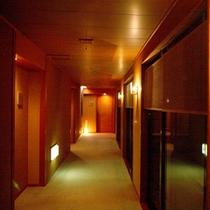 ■館内廊下■
