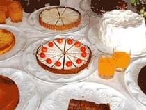 手作りケーキ(夕食)
