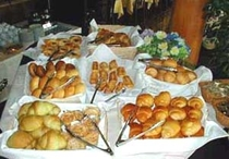 手作りパン(朝食)