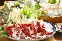 【山渓郷土料理】猪肉イメージ