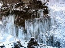 屏風岩・氷瀑・横