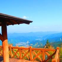 北総門山から望む景色