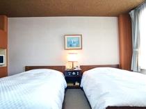 広いお部屋が人気のツインルーム