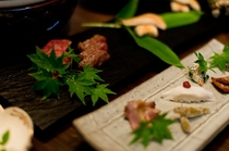 九州山河料理 宮崎牛炭火焼