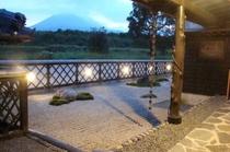 庭 高千穂の峰