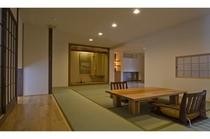 24畳和洋室 床の間