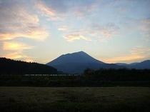 高千穂の峰 夕焼け