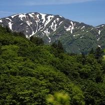 【谷川岳】登山に人気の谷川岳。四季折々に美しい姿を覗かせます。