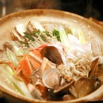 【旬魚介の寄せ鍋】
