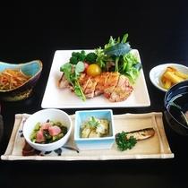 ◆伯耆定食◆メインは【肉料理】【魚料理】お好きな方をチョイス!