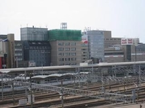 JR名古屋駅から見た外観