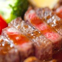 特別メイン:A5和牛のステーキ 希少部位イチボ