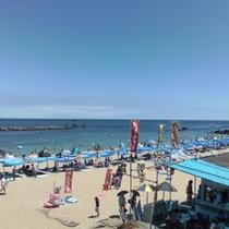 夏は海水浴にどこよりも超便利!