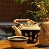 ○ゆっくりお茶をどうぞ