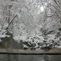雪景色 らいてい