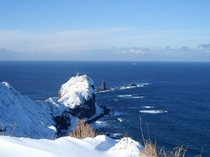 冬の神威岬
